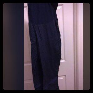 Pants - cherokee maternity scrub pants navy